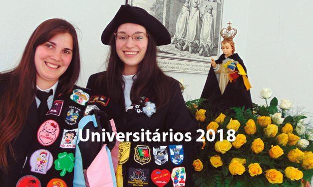 Peregrinação dos Universitários 2018