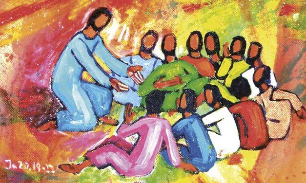 Começa o encontro com Jesus