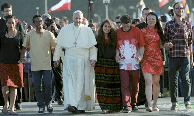 A Igreja caminha com os jovens