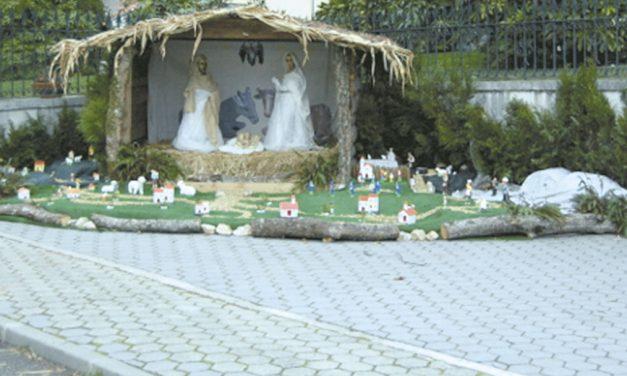 O presépio, lugar de encontro
