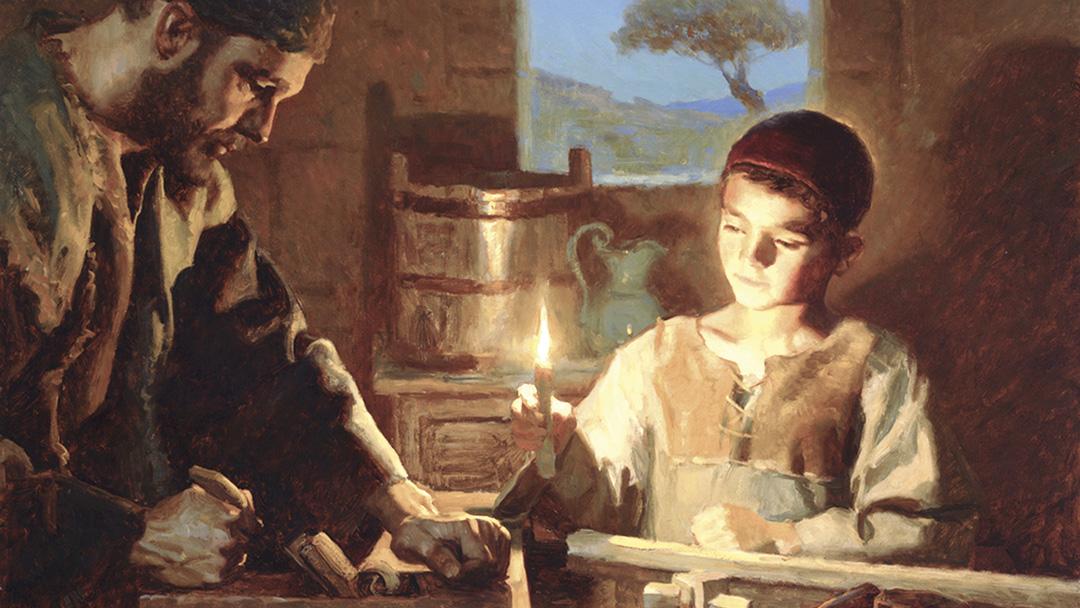José, devoto cuidador do Divino Reizinho